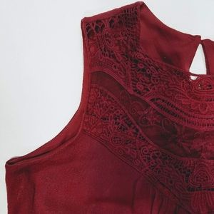Dresses & Skirts - High Neck Sleeveless Tunic Dress